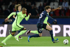 France, PSG VS Manchester CIty FC