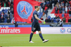 Paris: French First League Soccer Match between Paris Saint-Germain and SM Caen - Actions