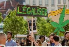 Lyon: 15th edition of the global Cannabis March