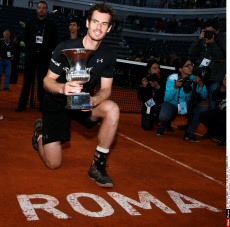 ATP Roma: Murray's birthday gift