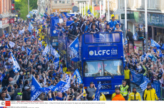 Leicester City Premiere League Title Victory Parade, Leicester, Britain - 16 May 2016