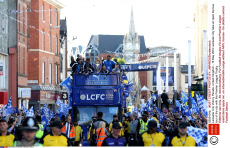Leicester City Victory Parade, United Kingdom - 16 May 2016