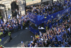 Leicester City champions parade