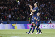 Paris: French First League Soccer Match between Paris Saint-Germain and FC Nantes - Actions