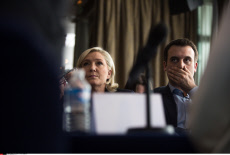 PARIS: Marine Le Pen -