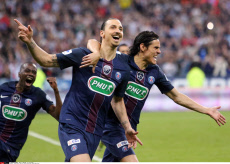Zlatan remporte la coupe de France
