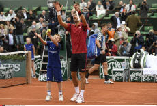 Roland Garros 2016 Quarter final match Novak Djokovic v Thomas Berdych