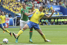 UEFA Euro 2016 Group E stage match Republic of Ireland vs Sweden