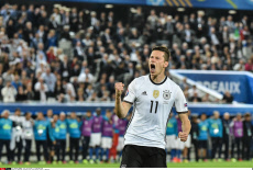 EURO 2016: Germany versus Italy quarter finals in Bordeaux.