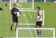 Football: PSG training session at the Camp-des-Loges