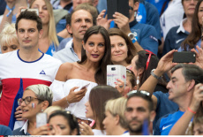 Euro 2016 Celebs in the stands