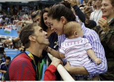 Michael Phelps 21 gold medals and a baby