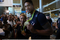 Rio 2016 France's athletes back home