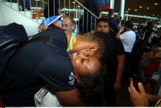 France Arrivals of french athletes from the Olympic Games Rio 2016