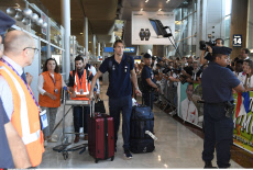 France: Arrivals of french athletes from the Olympic Games Rio 2016