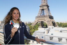 Paris French medallists athletes at the Hotel Pullman