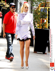 Rita Ora out and about, New York, USA - 25 Aug 2016