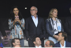 Football: League One soccer match between Marseille and Lyon - Celebs