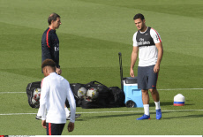 France football: PSG 's training session