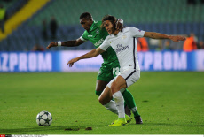 SOFIA: PFC Ludogorets vs Paris Saint-Germain