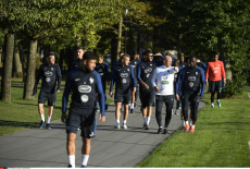 Clairefontaine French Football Team training session