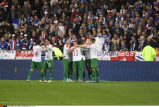 Football: World Cup qualifying soccer match between France and Bulgaria