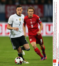 Football - 2018 FIFA World Cup Qualifying Group C Germany v Czech Republic Volksparkstadion, Hamburg, Germany - 08 Oct 2016