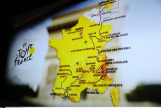 Cyclism: Presentation of the 2017 Tour de France cycling race in Paris