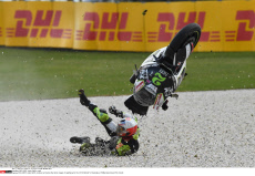 Jesko Raffin crash