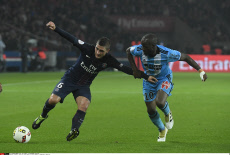 Football: French L1 soccer Match Paris Saint-Germain vs Olympique de Marseille