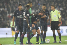 Football French L1 Paris Saint-Germain vs Olympique de Marseille