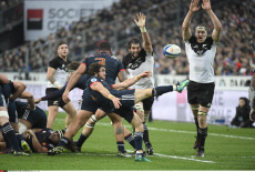 Rugby Test Match France vs All Blacks