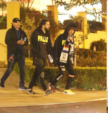 Jaden Smith Sticks His Tongue Out When Leaving Cinema