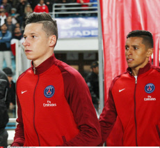 Tunis friendly football match between PSG and Tunisia's Club Africain