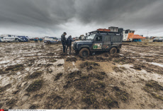 Bivouac of Oruro after stage 05 of Rally Dakar 2017 from Tupiza, to Oruro, Bolivia