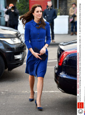 Catherine Duchess of Cambridge and Prince William visits Child Bereavement Centre, London, UK - 11 Jan 2017