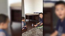 Baby Flips Bottle 5 Times In Row