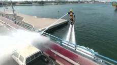 Dubai Jet Powered Firefighters