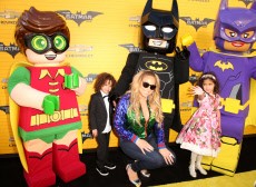 'The Lego Batman Movie' film premiere, Arrivals, Los Angeles, USA - 04 Feb 2017