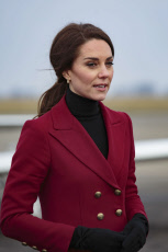 Catherine Duchess of Cambridge visit to RAF Wittering, Peterborough, Cambridgeshire, UK - 14 Feb 2017