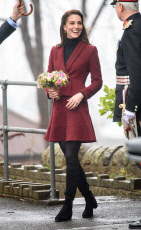 Catherine Duchess of Cambridge visits 'Action For Children', Wales, UK - 22 Feb 2017