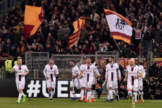 AS Roma v Olympique Lyonnais - UEFA Europa League