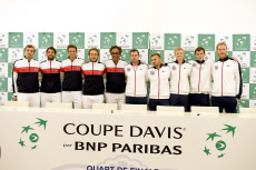 Rouen Draw ceremony France v Great Britain Davis Cup World Group Quarter-Final
