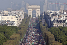 France Paris Marathon