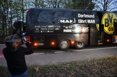 Dortmund : bus attack