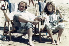 Cannes Phil Collins and Julie Walters