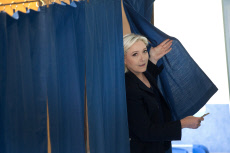 French election : Marine Le Pen