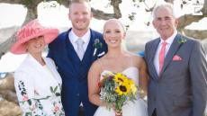 Bride Ditches Wig For Wedding