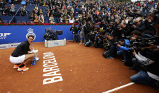 APTOPIX Spain Tennis Barcelona Open