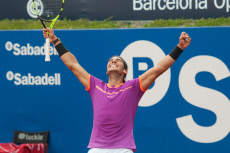 Spain Rafael Nadal wins the 65th Barcelona Open Banc Sabadell tennis tournament